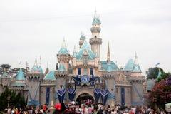 Sleeping Beauty Castle, Disneyland, California Stock Images