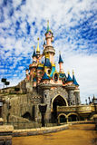Sleeping Beauty castle at Disneyland Paris, Eurodisney Editorial. Photo stock. The Disney castle in Disneyland Paris Stock Photography