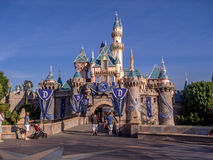Sleeping Beauty Castle at Disneyland Park Royalty Free Stock Photography