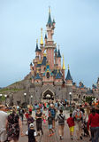 Sleeping Beauty Castle in Disneyland park Royalty Free Stock Photography