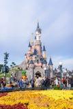 Sleeping Beauty Castle , the symbol of Disneyland Paris Royalty Free Stock Photography