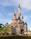 Sleeping Beauty Castle , the symbol of Disneyland Paris Royalty Free Stock Photos