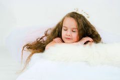 Sleeping beauty Stock Photography