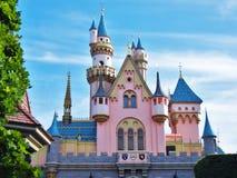Sleeping Beauty's Castle Stock Photos
