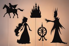 Free Sleeping Beauty Storytelling, Shadow Puppets Stock Image - 160738801