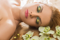 Sleeping beauty. Royalty Free Stock Photography