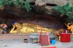 Sleeping Bhudda of Chengde Stock Photo