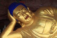 Sleeping Bhudda of Chengde Royalty Free Stock Photography