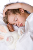 Sleeping Boy Royalty Free Stock Image