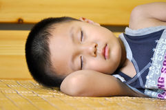 Sleeping boy Stock Photography