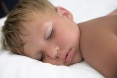 Sleeping boy Royalty Free Stock Photo
