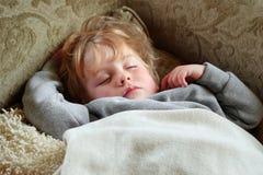 Sleeping Boy Stock Photography