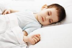 The sleeping boy Royalty Free Stock Photos