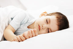 The sleeping boy Royalty Free Stock Photography