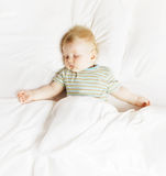The sleeping boy Royalty Free Stock Photo