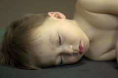 Sleeping boy. Nap time Royalty Free Stock Image