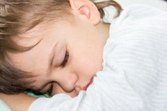 Sleeping boy son healthy sleep rest having rest sleeping Royalty Free Stock Image
