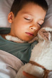 Sleeping boy Royalty Free Stock Photos