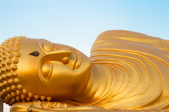 Sleeping buddah Stock Photo