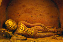 Sleeping Buddha Stock Image