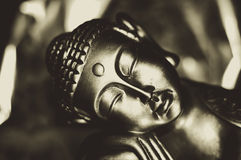 Sleeping buddha Stock Photography