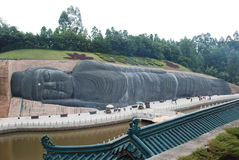 The sleeping Buddha Stock Photos