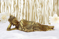 Sleeping Buddha Stock Photo