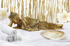 Sleeping Buddha Royalty Free Stock Image