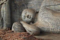 Sleeping Buddha Stock Photo