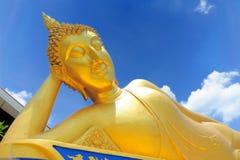 Sleeping Buddha royalty free stock photos
