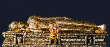 Sleeping buddha image Stock Photo