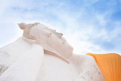 Sleeping Buddha Statue Royalty Free Stock Photography