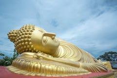 Sleeping Buddha Statue Royalty Free Stock Photos