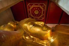 Sleeping buddha Stock Images
