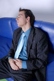Sleeping Business Man Royalty Free Stock Photography