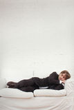 Sleeping businessman Royalty Free Stock Photography