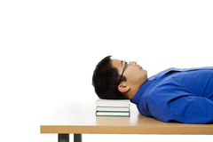 Sleeping businessman Royalty Free Stock Image