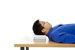 Sleeping businessman Royalty Free Stock Image