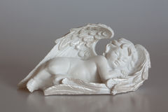 Sleeping cherub Royalty Free Stock Photos