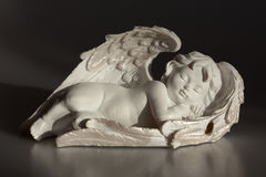 Sleeping cherub Stock Photos