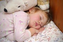 Sleeping child Royalty Free Stock Photos