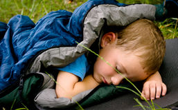 Sleeping child Royalty Free Stock Image