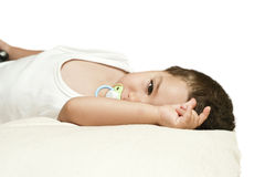 A sleeping child Royalty Free Stock Photography