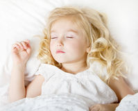 Sleeping child Stock Photo
