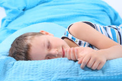 Sleeping child Stock Photos