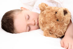 Sleeping child Stock Image