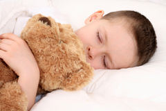 Sleeping child Royalty Free Stock Photos