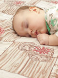A sleeping child. Royalty Free Stock Image