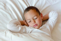 Sleeping child Royalty Free Stock Images