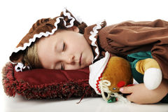 Sleeping Christmas Cookies Stock Photography